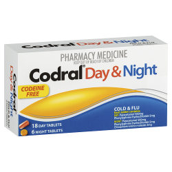 CODRAL PE Day & Night (Codeine Free) Tablets 24s
