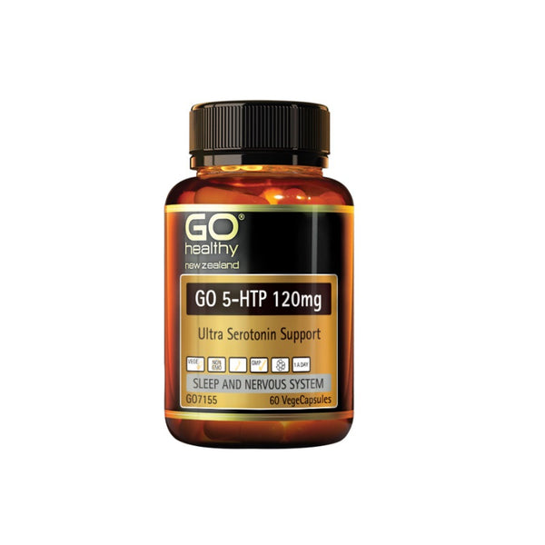 Go Healthy 5HTP 120mg 60vcaps