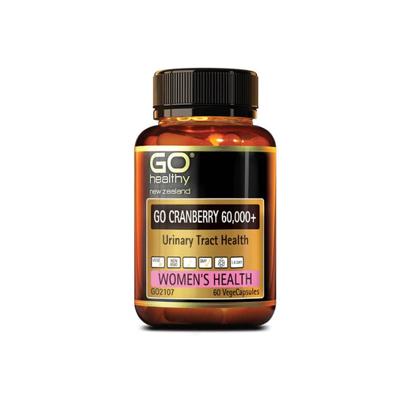 Go Healthy Cranberry 60000+ 60vcaps