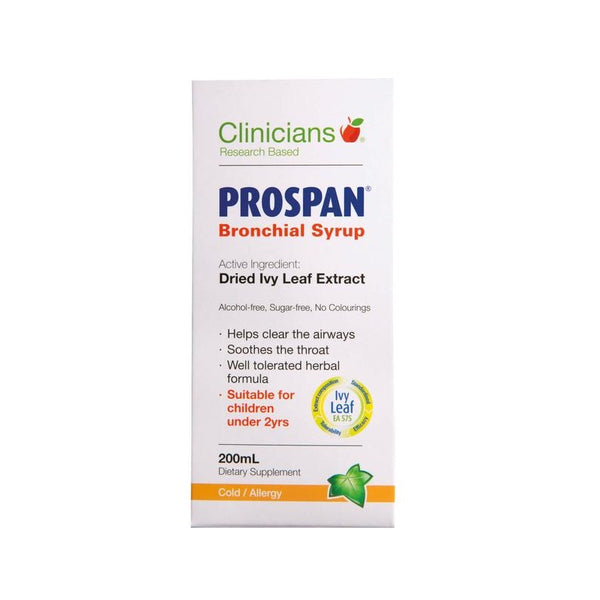 CLINICIANS Prospan Bronch. Syrup 200ml