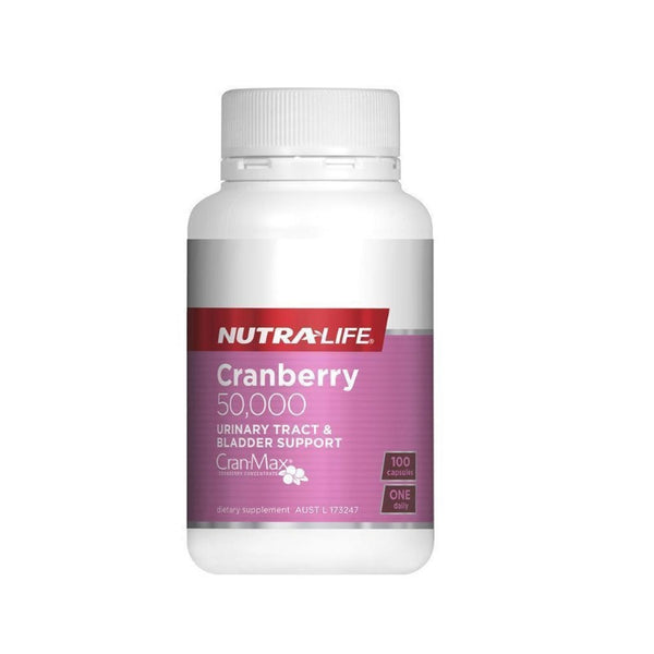 Nutra-Life Cranberry 50000mg 100caps