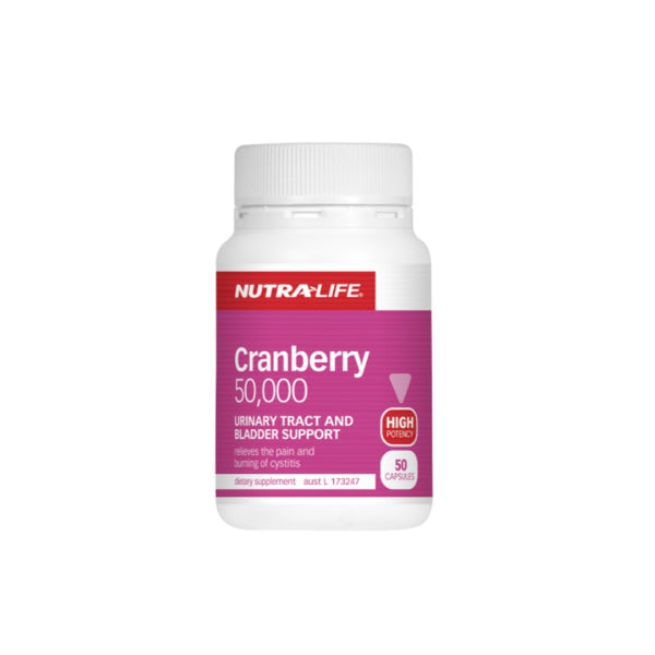 Nutra-Life Cranberry 50000mg 50caps