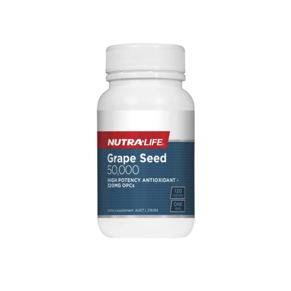 Nutra-Life Grape Seed 50,000mg 120caps