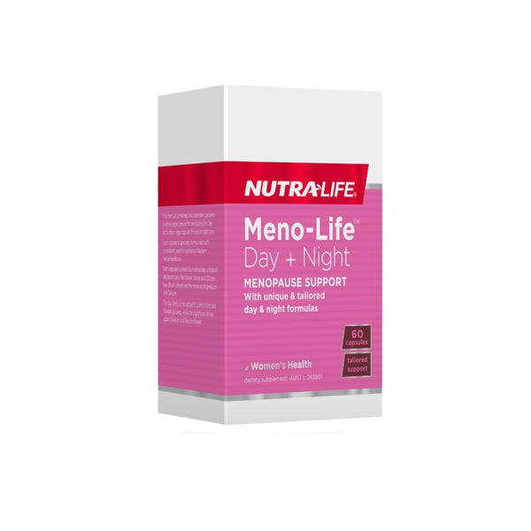 Nutra-Life Meno-Life 24 Hour Support 60caps