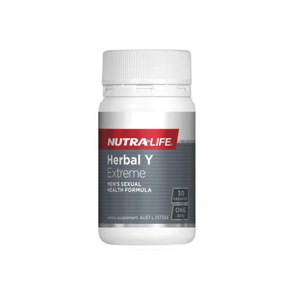 Nutra-Life Herbal Y Extreme 75mg Muira 30Cp