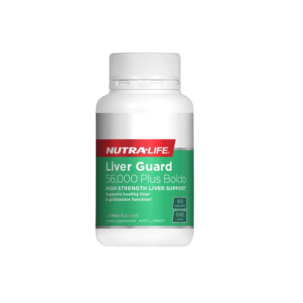 Nutra-Life Liver Guard 56000 Plus Boldo 60s