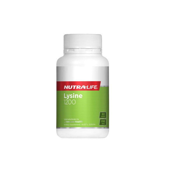 Nutra-Life Lysine 1200mg 60tabs