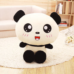 Lovely Big Head Panda Plush Toy 40cm - Voilet Panda Store