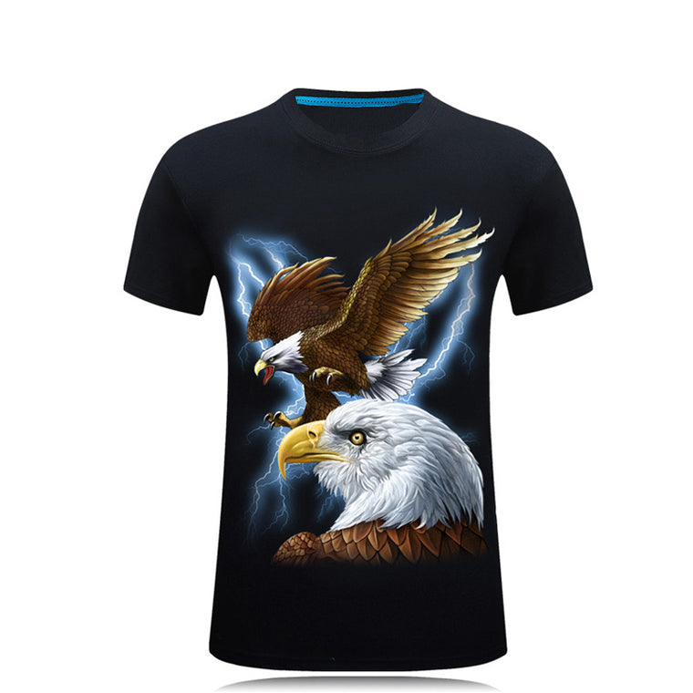 3D Printing Eagle Pattern T-shirt