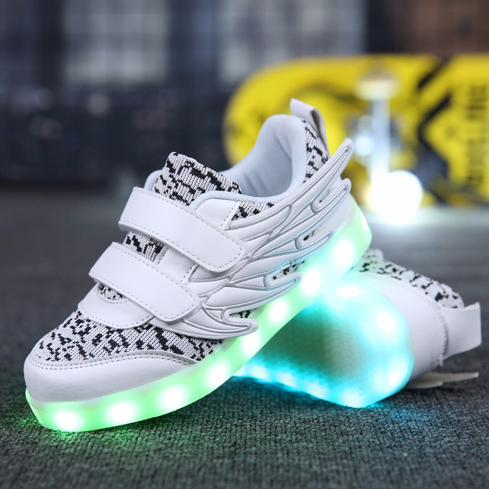 Kids Limited Edition Light up Shoes