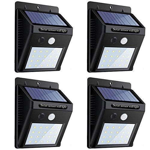 LED Motion Solar Lights Outdoor,