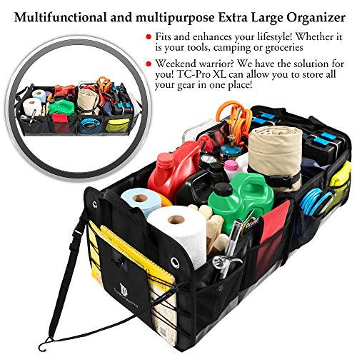 Portable Multi Compartments Trunk Organizer
