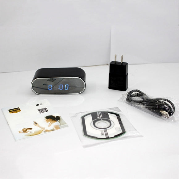 Mini Camera Clock Alarm