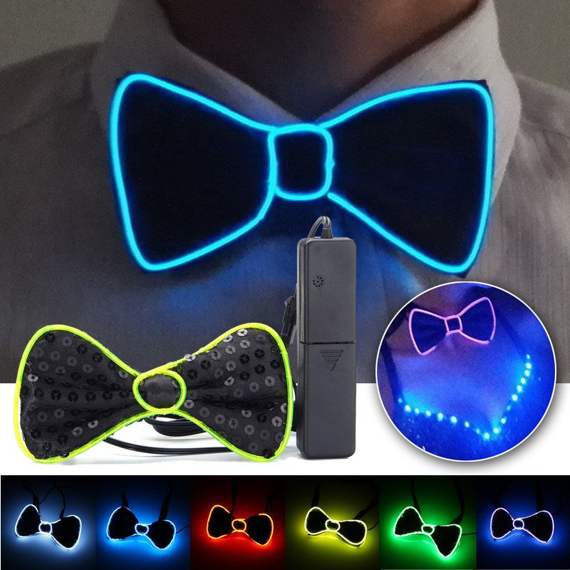 Sexy Club Bow Tie LED