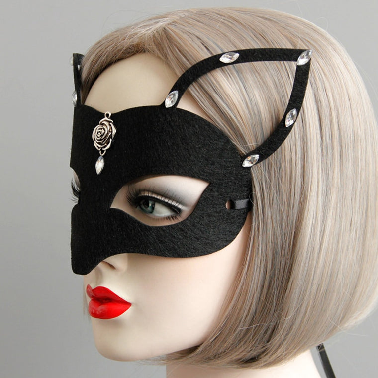 Sexy Catwoman Halloween Mask