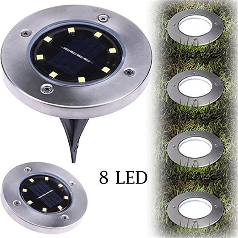 LED Waterproof Landscape Lawn Yard Solar