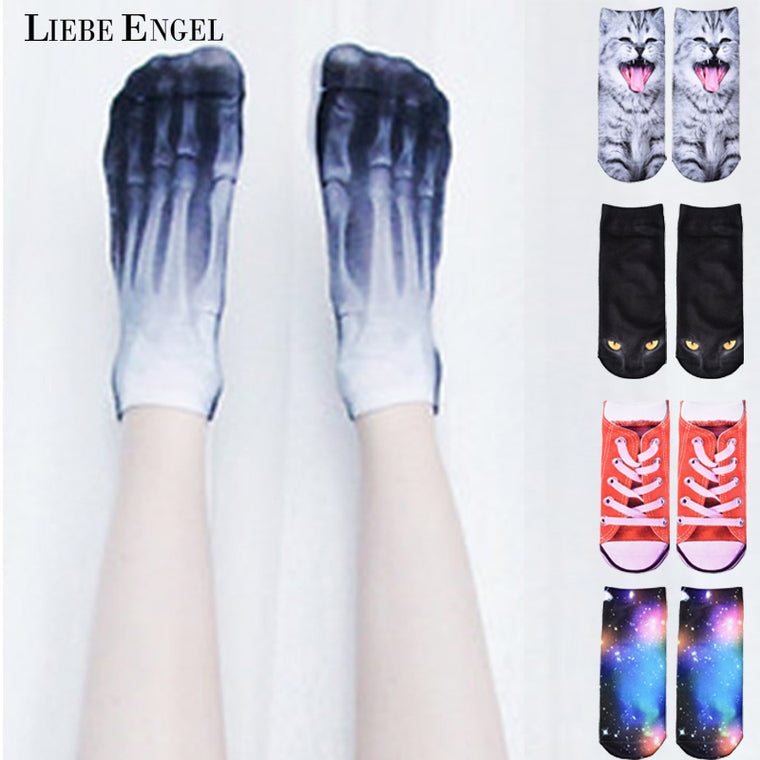 3D Printed Skeleton Socks