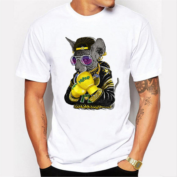 3D T Shirts Harajuku Fortnite Cat