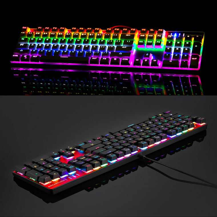 LED Backlit Anti-Ghosting for Gamer Computer