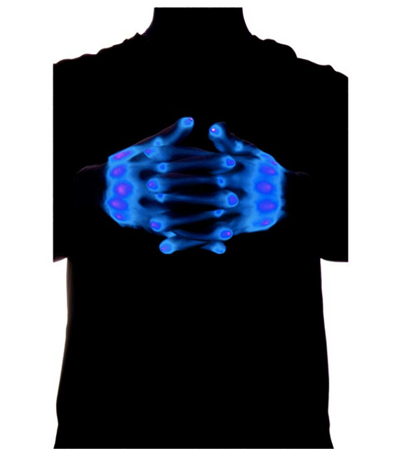 LED Unisex skeleton Glove