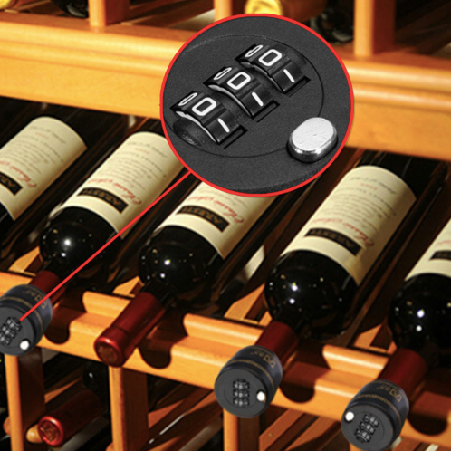 Wine Bottle Combination Lock
