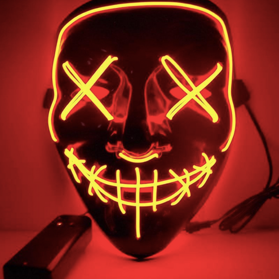 LED The Purge Mask