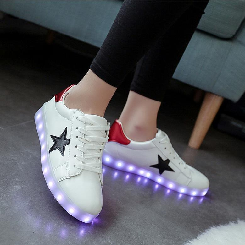 Led Shoes Glowing Sneakers Lighting