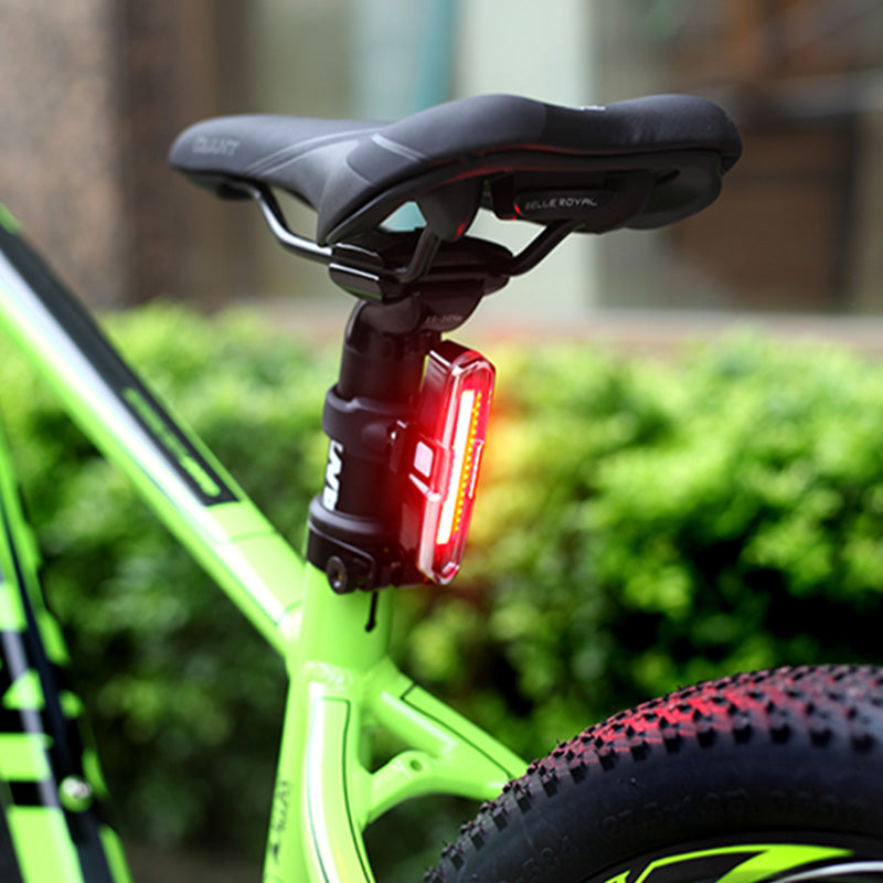 USB Rechargeable Front Rear Bicycle Light