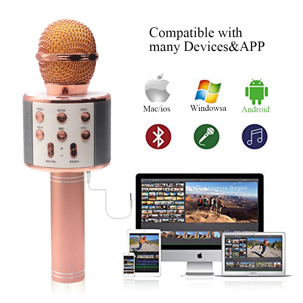 Portable Bluetooth Microphone Wireless