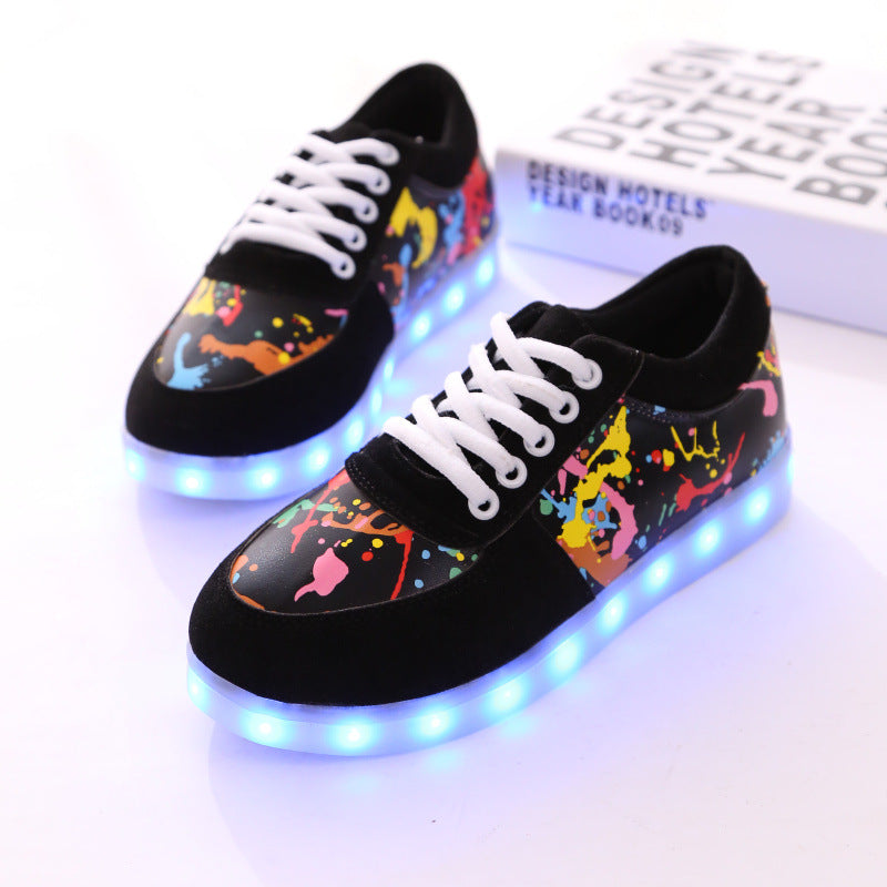 Led Luminous Girls Shoes for Kids