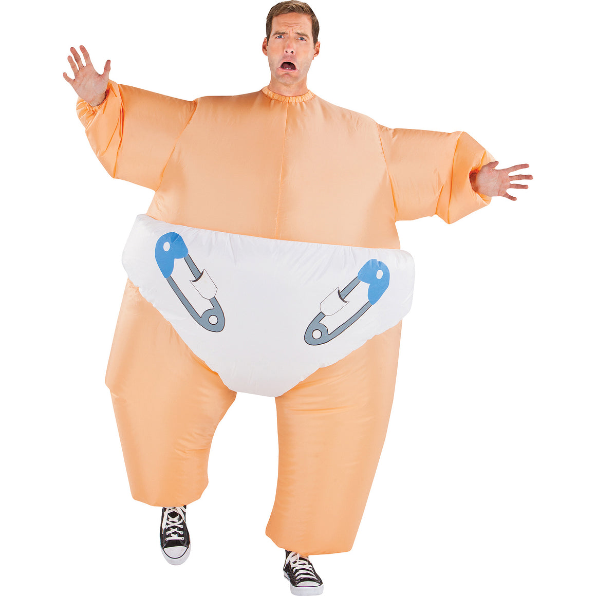 Big Baby Adult Costume