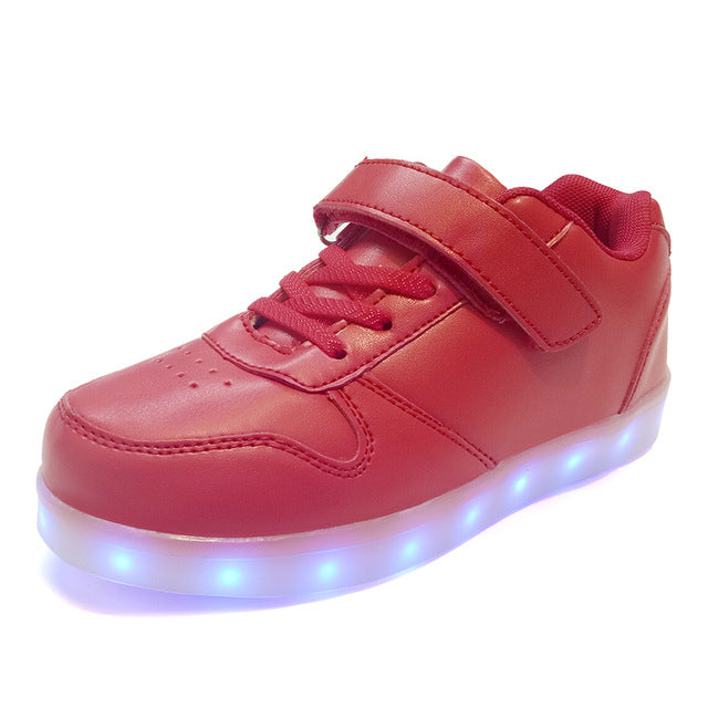 Led luminous sneakers