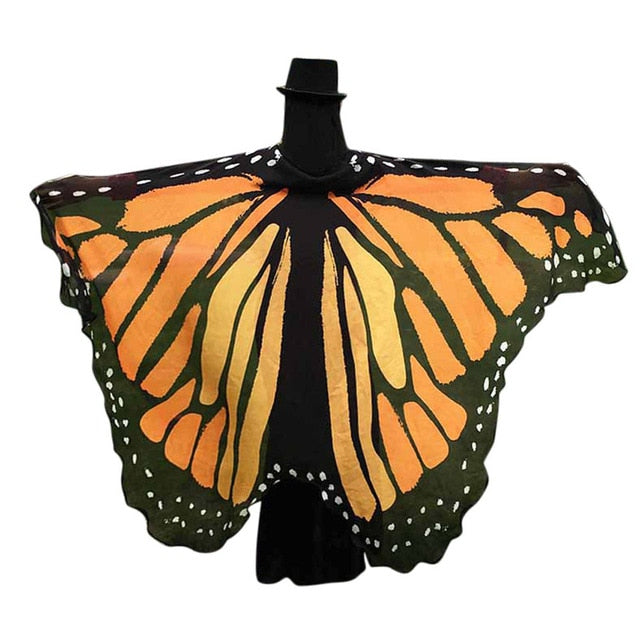 Butterfly Wings Shawl Fairy