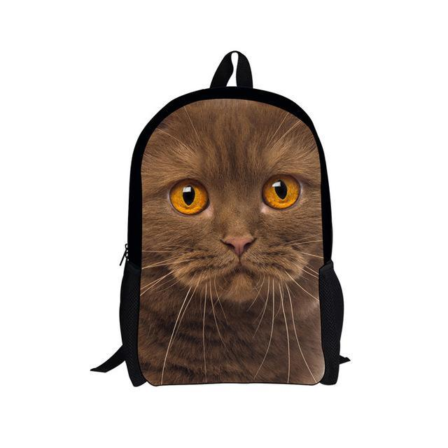 3D Cartoon Animal Backpack