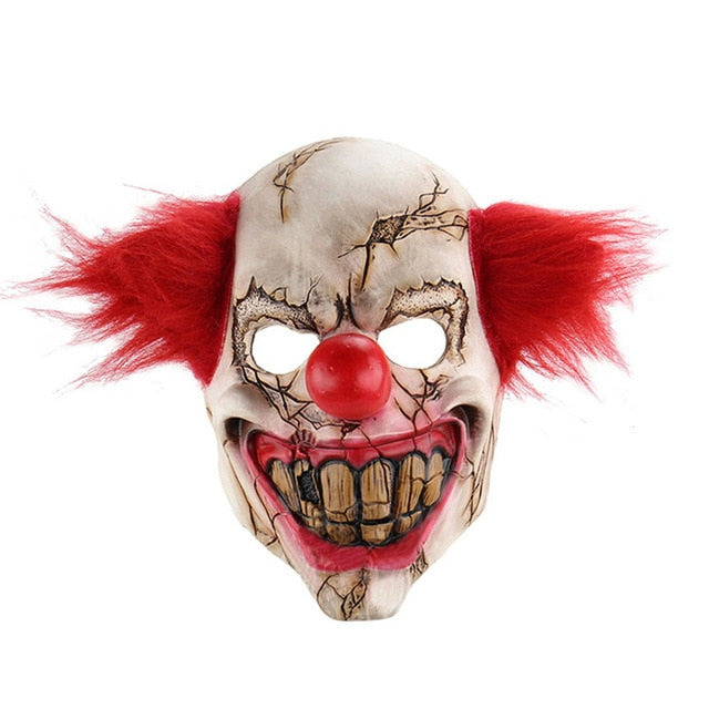 Killer Clown Halloween Masks