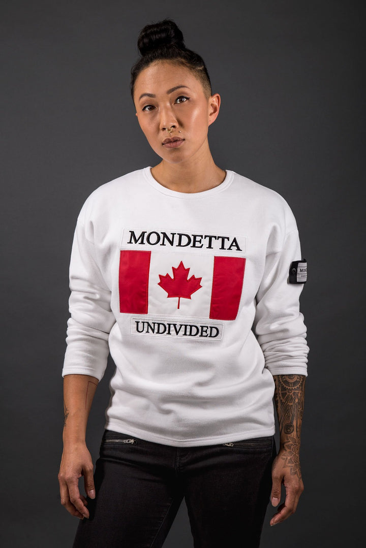 Unity Women's Modern Fit Sweater - Canada - White