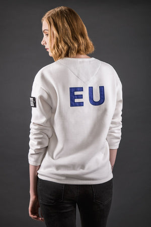 Unity Women's Modern Fit Sweater - EU - White