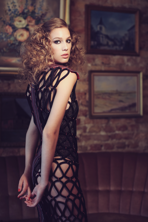 Night Net Dress