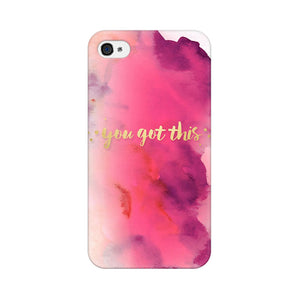 You Got This Apple iPhone 4s Mobile Back Case