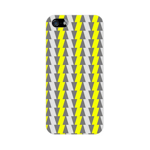Yellow And White Cards Apple iPhone 5s Mobile Back Case