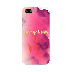 You Got This Apple iPhone 5s Mobile Back Case