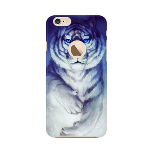 White Tiger Apple Apple iPhone 6s with Apple hole Mobile Back Case