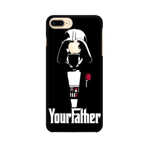Your Father Apple iPhone 7 Plus with Apple Cut Mobile Back Case