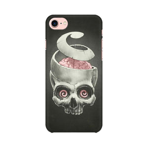 Open Your Brain Apple iPhone 8 Mobile Back Case