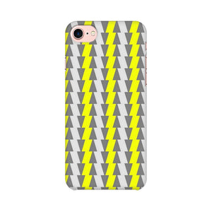 Yellow And White Cards Apple iPhone 8 Mobile Back Case