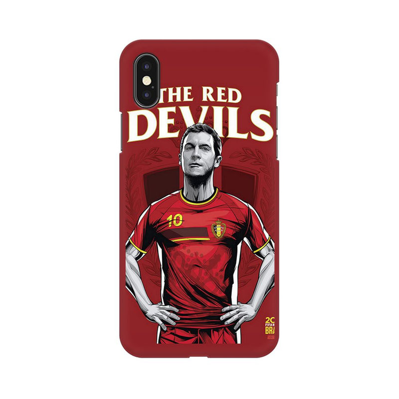 The Red Devils Apple iPhone X Mobile Back Case