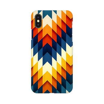 Up Or Down Apple iPhone X Mobile Back Case