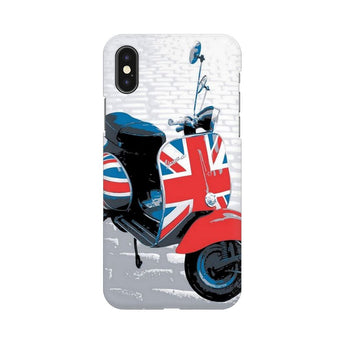 Vespa From Uk Apple iPhone X Mobile Back Case