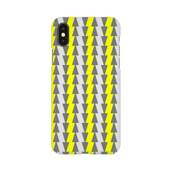Yellow And White Cards Apple iPhone X Mobile Back Case