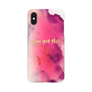 You Got This Apple iPhone X Mobile Back Case